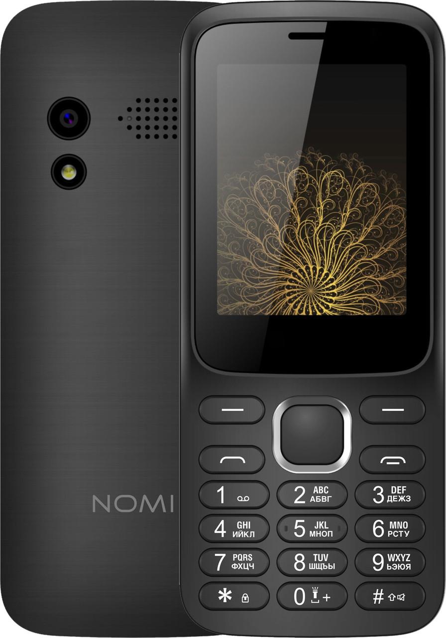Кнопочный мобильный телефон Nomi i248 Black