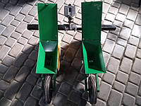 Сівалка овочева (сіялка) точного висіву 2-х рядна до мотоблока