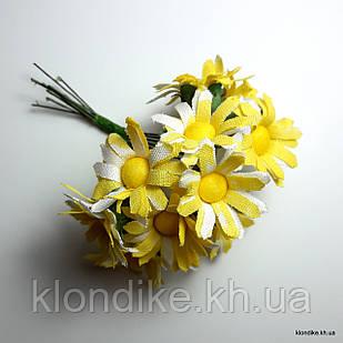 Букетик ромашки, Цвет: Желтый