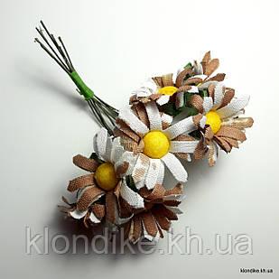 Букетик ромашки, Цвет: Коричневый