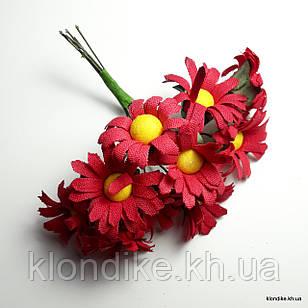 Букетик ромашки, Цвет: Красный