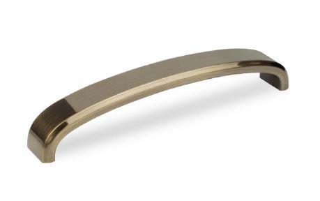 Ручка скоба Virno Lines 403/224 бронза браш