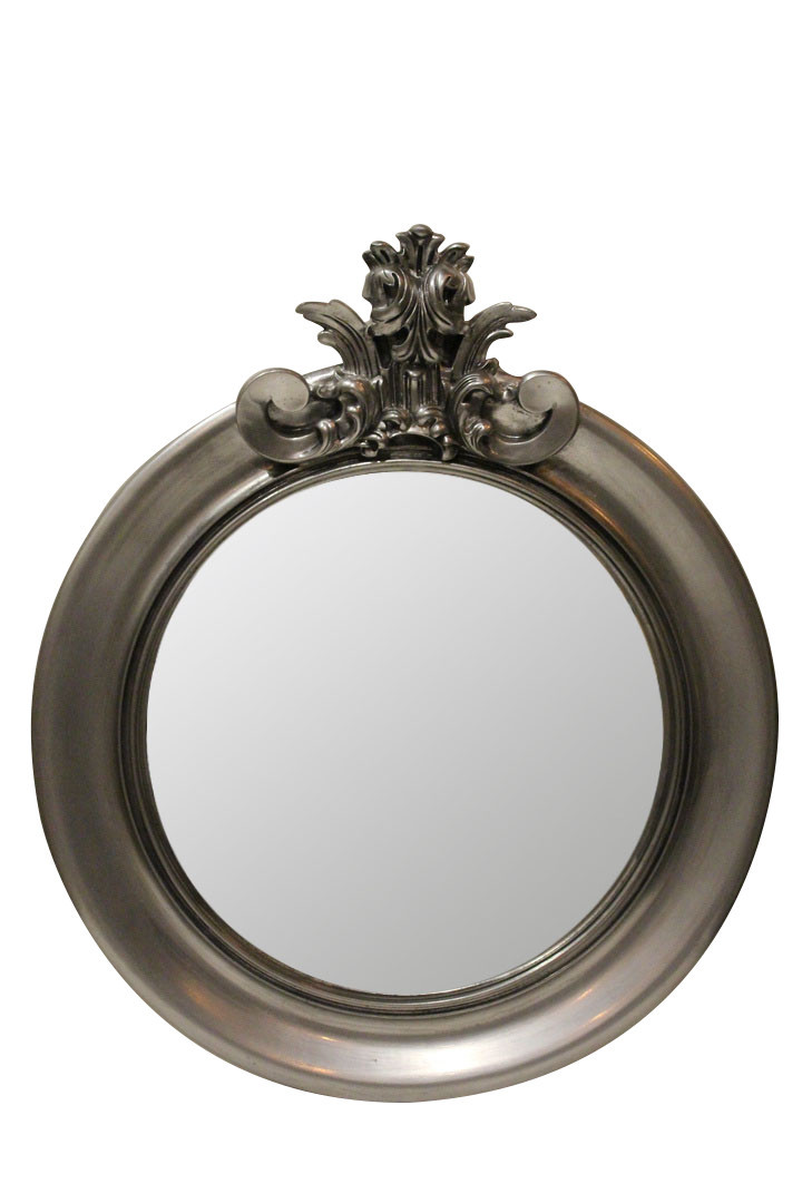 Зеркало Ar deko rotondo «black silver»