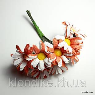 Букетик ромашки, Цвет: Оранжевый