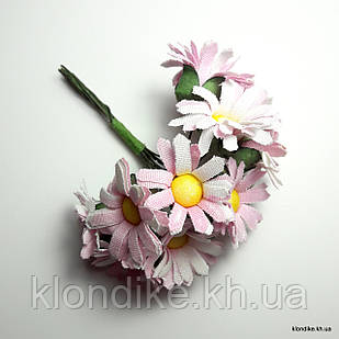 Букетик ромашки, Цвет: Розовый