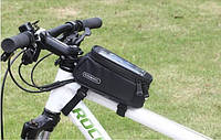 Велосипедная сумка 5.5 Roswheel велосумка на раму L вело Черный