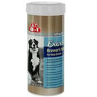 Вітаміни для великих собак, 8 in 1 Excel Brewers Yeast, 80 табл