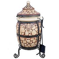 Печь тандыр переносной на 60 литров «Камень»