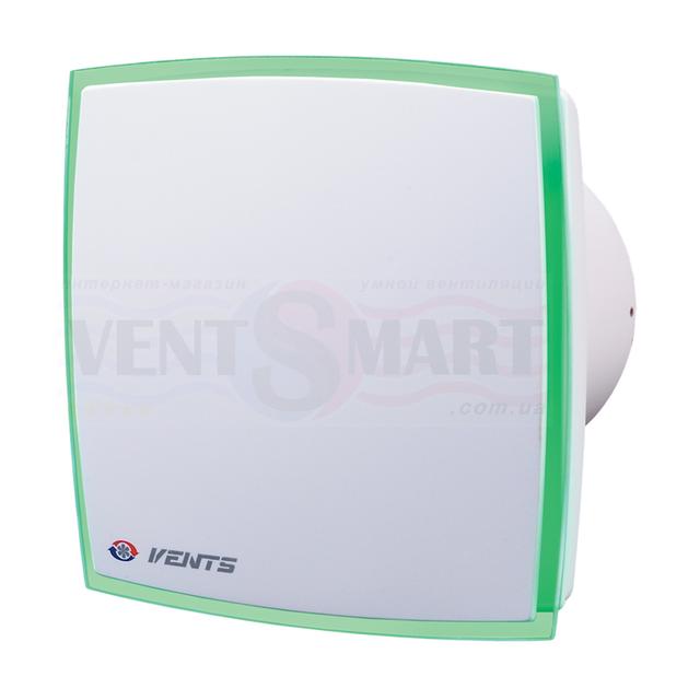 Внешний вид (фото, изображение) декоративного вентилятора для ванной Vents LD Light белого цвета. Вентилятор обладает привлекаельным и современным дизайном, имеет малое энергопотребление, высокую продуктивность и низкий уровень шума. Модификации Вентс ЛД Лайт: с обратным клапаном, с двигателем на подшипниках, со шнурком, с реле времени, с реле влажности.