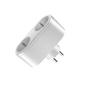 Wi-Fi двойная розетка 16А, JAVA-SOCKET2