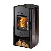 Кафельная  печь камин  каминофен на дровах c водяным контуром Haas+Sohn Trino.