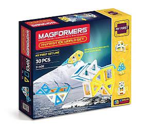 Магнитный конструктор Magformers My First Ice World Set Мое первое путешествие в снежные края (702003)