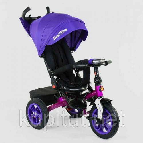 Велосипед 3-х колёсный 9500 - 3046 Best Trike фиолетовый