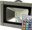 Светодиодный прожектор: 10W, IP65, цвет: RGB, 220V, фото 2