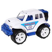 Машинка Внедорожник Полиция полицейская машинка пластиковая Технок, 4630, 010994