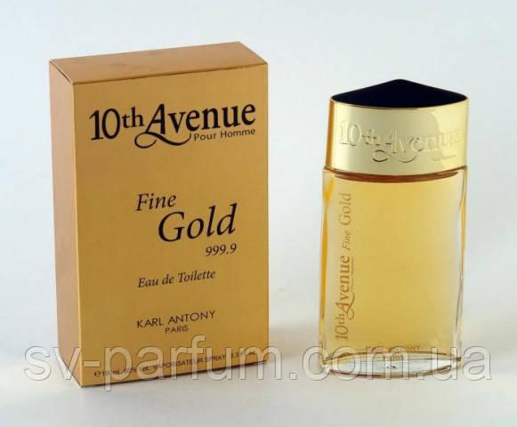 Туалетная вода мужская 10th Avenue Fine Gold 100ml