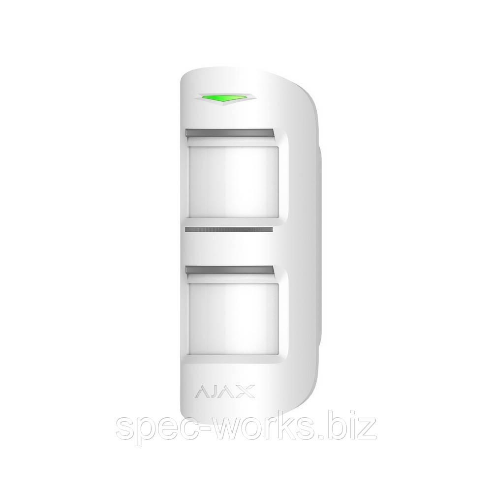 Беспроводной охранный уличный датчик движения Ajax MotionProtect Outdoor