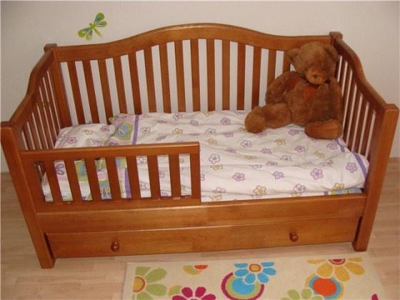 Детская кровать из дерева «Американка»