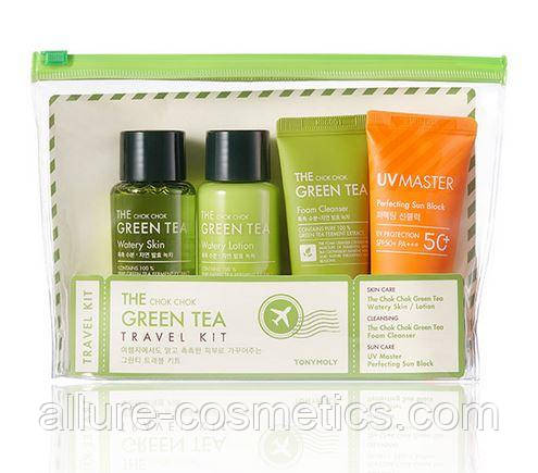 TONY MOLY The Chok Chok Green Tea Travel Kit Дорожный набор