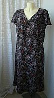 Платье женское летнее элегантное батал макси бренд Bonmarche р.56