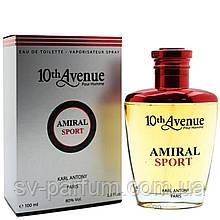 Туалетная вода мужская 10th Avenue Amiral Sport 100ml