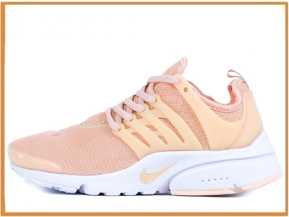 5beff741 Женские кроссовки Nike Air Presto Arctic Orange (найк аир престо,  персиковые / белые)