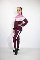 Спортивный модный подростковый костюм  девочке  , 140-146-15 2-158-164 рост, Украина