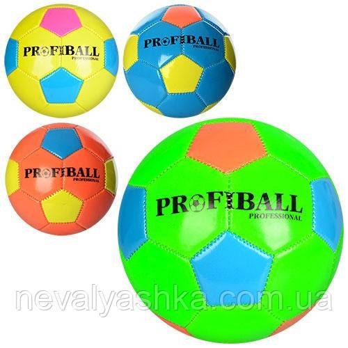 Мяч футбольный Мини футбол маленький Размер 2, ПВХ 1,6мм, 300г, 3220, 3228, 010687