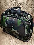 (25+10)*48*22-малень)Спортивная дорожная Камуфляж сумка nike трансформе Дорожная Спортивная сумка только оптом, фото 3