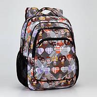 Школьный рюкзак в 1-4 класс Dolly 530 для девочки ортопедический 30х39х21 см, фото 1