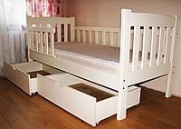 Детская кровать из дерева «Юниор»
