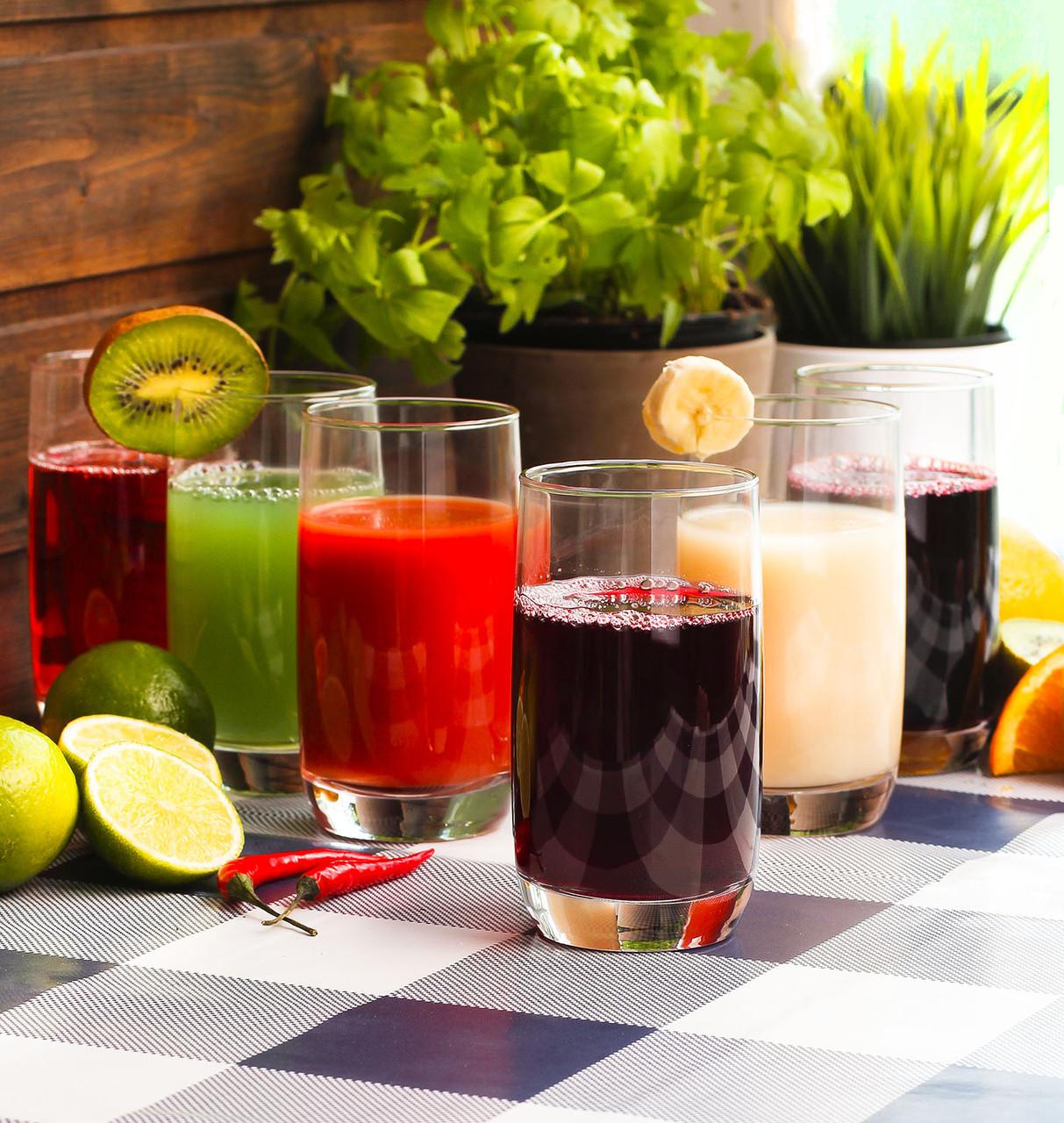 Набор высоких стаканов Luminarc Французский Ресторанчик 6 шт х 330 мл (H9369)