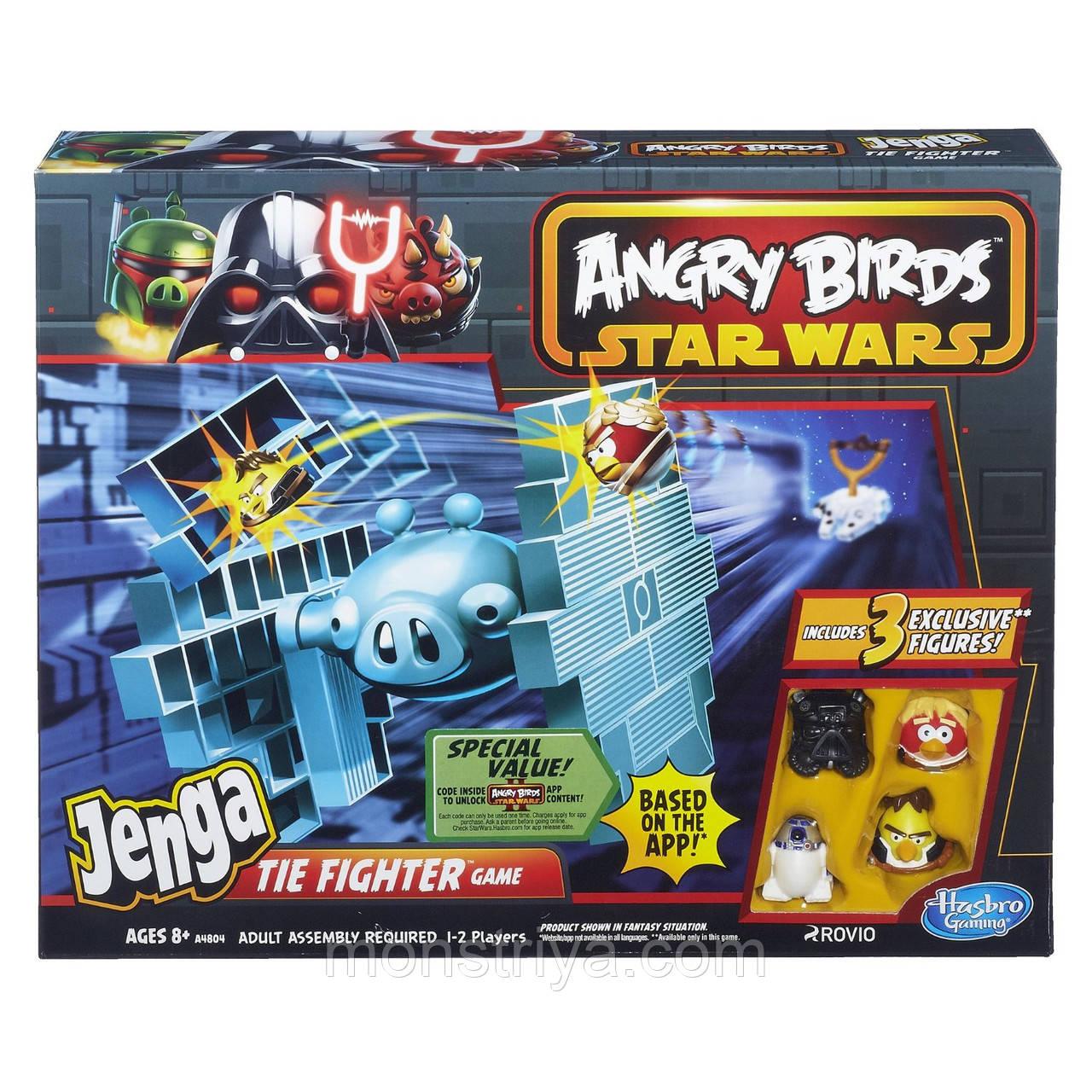 Настольная игра Angry Birds Star Wars Истребитель класса Тай. Киев.