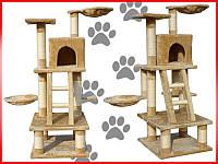 Когтеточка, домики, дряпка для кошек CAT-TREE C-05