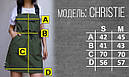 Сарафан женский черный бренд ТУР Кристи (Christie) размер S, M, L, фото 3