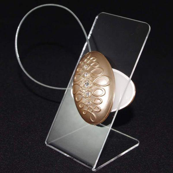 Декоративный магнит подхват для тюлей и штор № 67-113