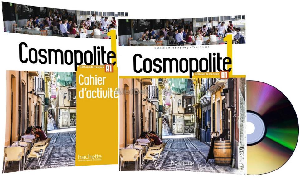 Французский язык / Cosmopolite / Livre+Cahier d'activités. Учебник+Тетрадь (комплект), 1 / Hachette