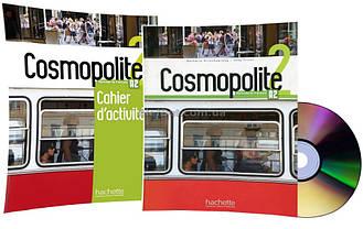 Французский язык / Cosmopolite / Livre+Cahier d'activités. Учебник+Тетрадь (комплект), 2 / Hachette