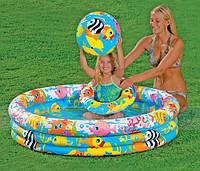 Детский надувной бассейн INTEX 59469 с набором 132-28 см