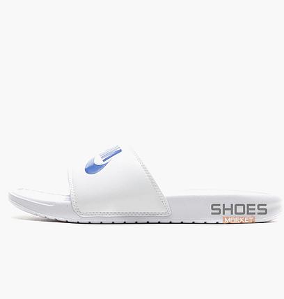 28ed53e0d Мужское Тапочки Nike BENASSI JDI White 343880-102, Оригинал купить в ...