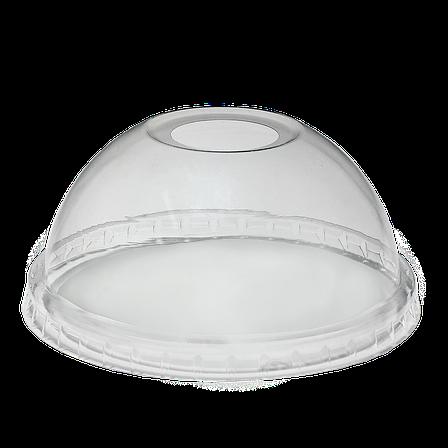 Крышки купольной формы с отверстием для стаканов 100Шт/уп, фото 2