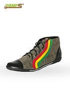 Обувь из конопли  «Раста-кеды»