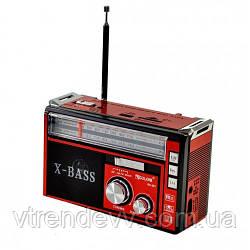 Радиоприёмник портативный GOLON RX-381 X-Bass с фонариком