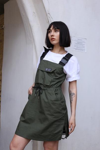 Сарафан женский хаки бренд ТУР  Кристи (Christie) размер S, M, L