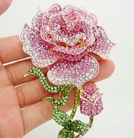 Брошь роза, фото 1