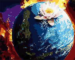 Картина по номерам Планета 40x50 см. Art Story