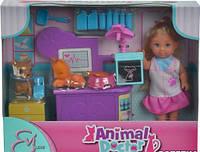 Кукла Еви Ветеринар для домашних любимцев Simba