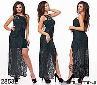 Вечернее платье женское Декорировано стразами Размер 42 44 46 В наличии 5 цветов, фото 1