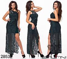 Вечернее платье женское Декорировано стразами Размер 42 44 46 В наличии 5 цветов