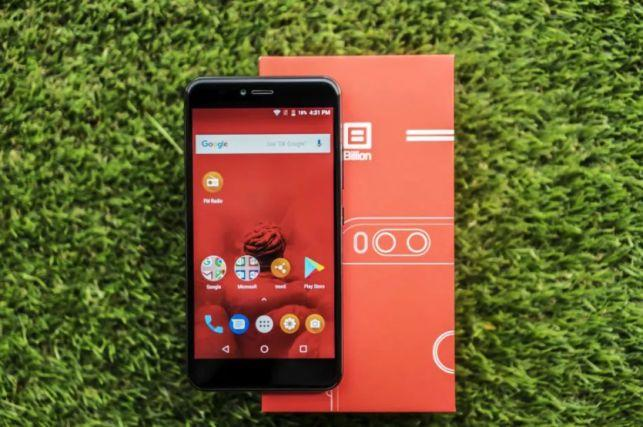 Смартфон Billion Capture Plus 4/64 gb black Snapdragon 625 13+5MP 3500mAh